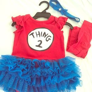 Thing 2 Baby/Toddler Costume